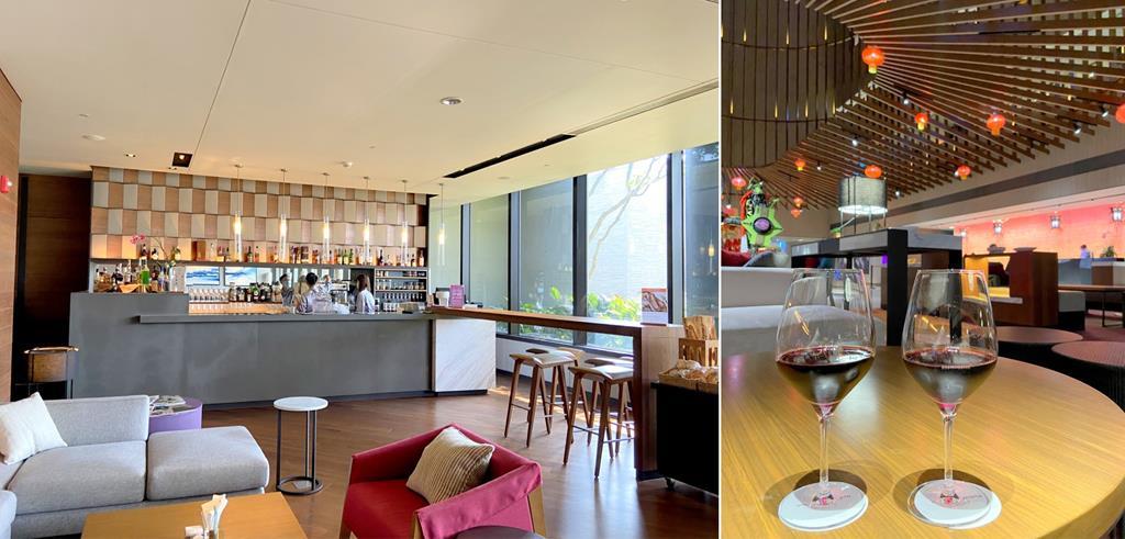 lounge bar of crowne plaza tainan