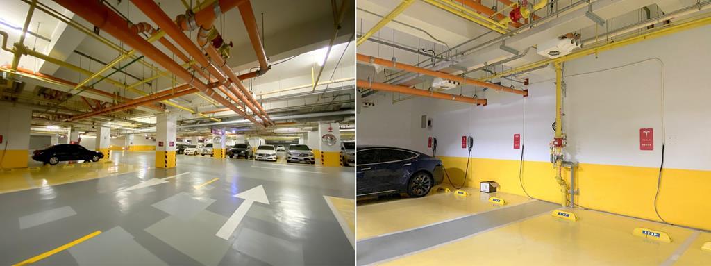 parking of crowne plaza tainan