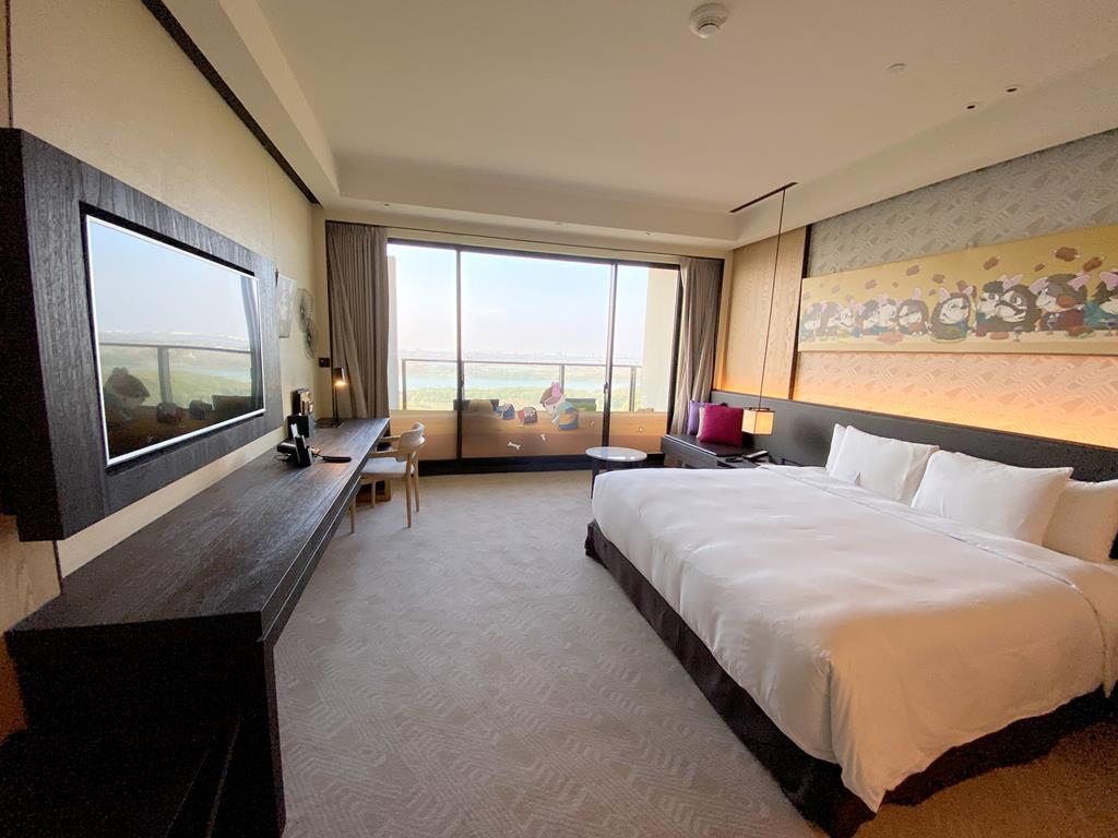 room of crowne plaza tainan