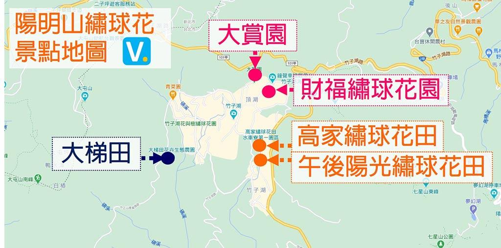 yangmingshan-hydrangea-map