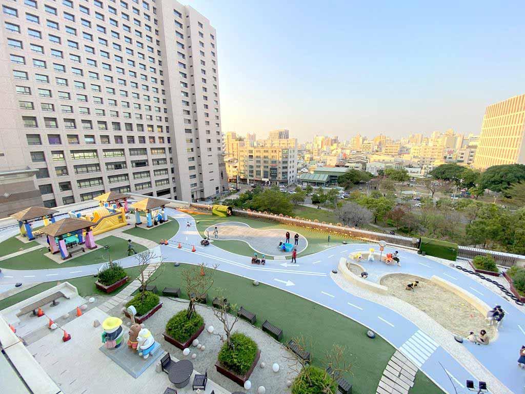 Room view of HOTEL COZZI Ximen Tainan