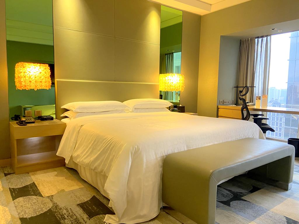 Room of Sheraton Hsinchu Hotel