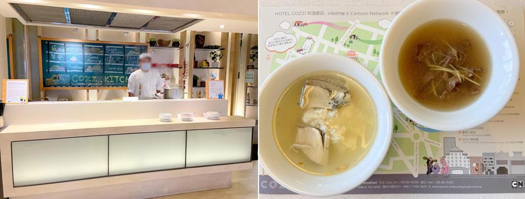 breakfast-of-HOTEL-COZZI-Ximen-Tainan