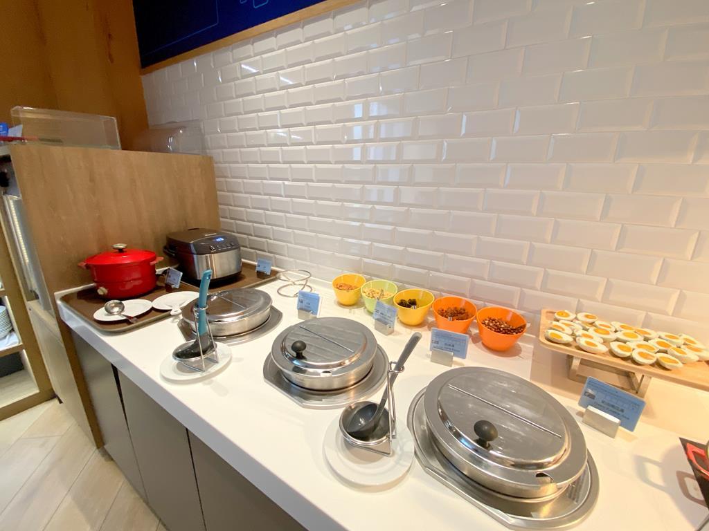 breakfast of holiday Inn Express Chiayi