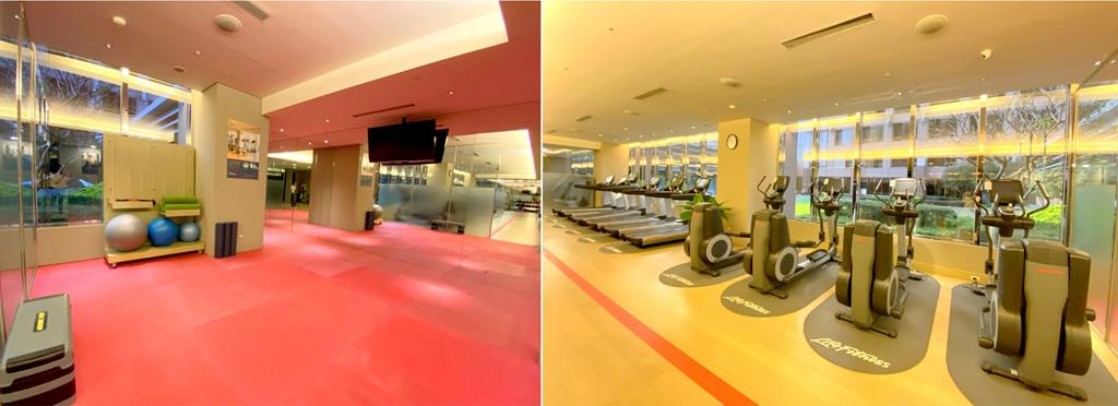 gym of Sheraton Hsinchu Hotel