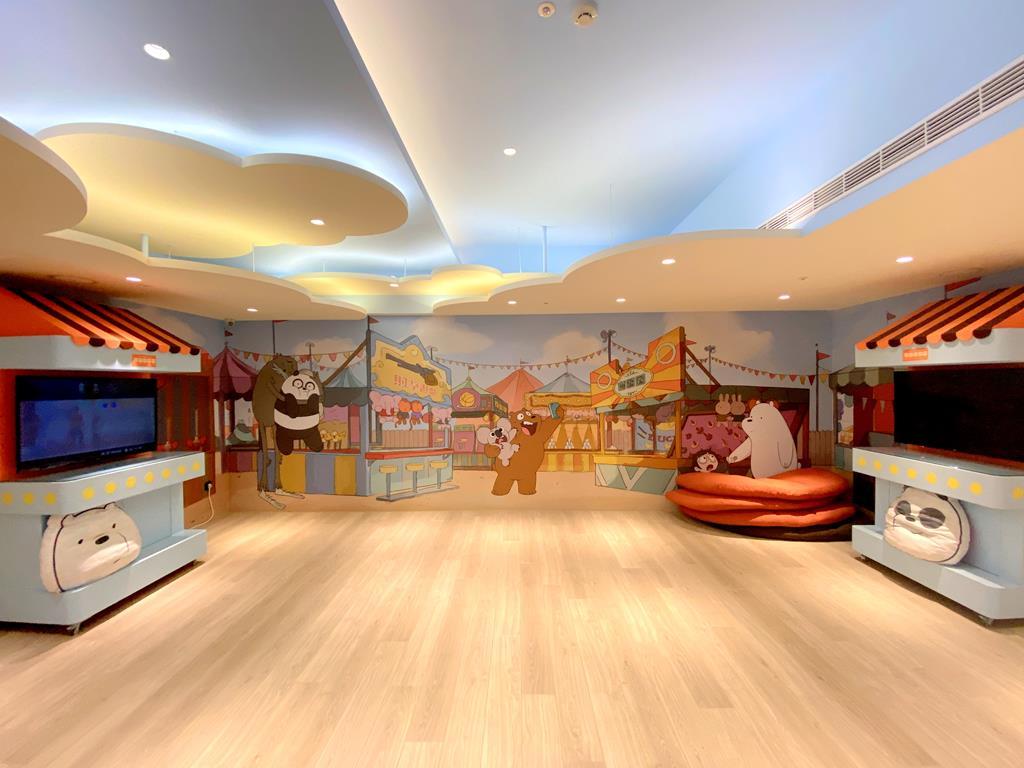 game room of HOTEL COZZI Ximen Tainan