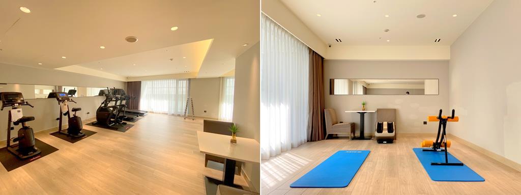 gym of HOTEL COZZI Ximen Tainan