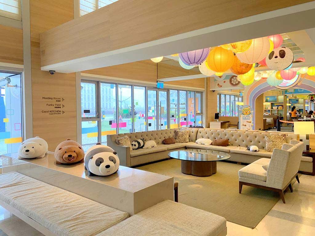 lobby of HOTEL COZZI Ximen Tainan