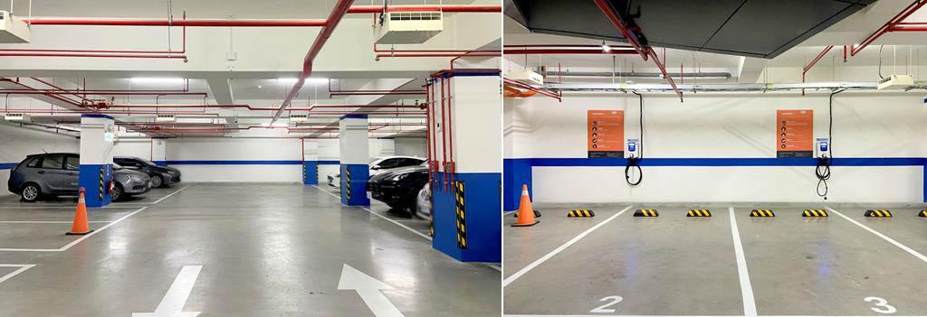 parking-of-holiday-Inn-Express-Chiayi