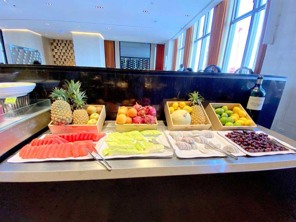 breakfast of h2o hotel