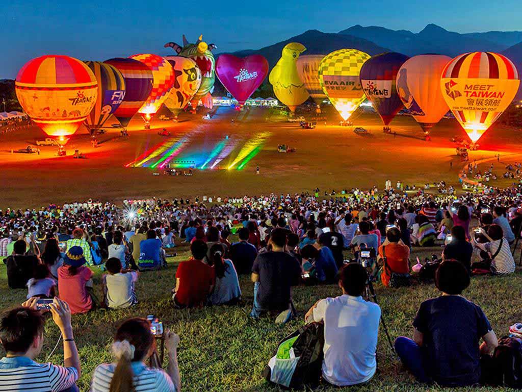 鹿野-熱氣球