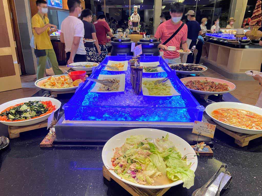 dinner of caesar park hotel kenting