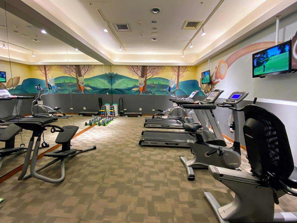 gym of Caesar Park Hotel Kenting