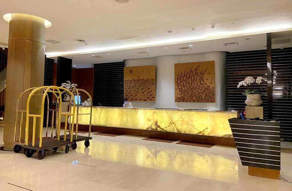 lobby of Caesar Park Hotel Kenting