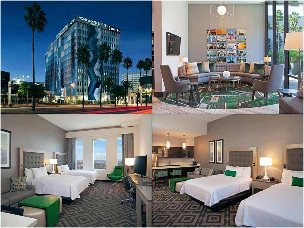 洛杉磯國際機場希爾頓惠庭套房酒店