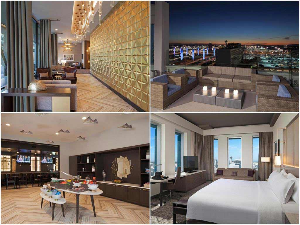 洛杉磯H酒店希爾頓格芮精選酒店