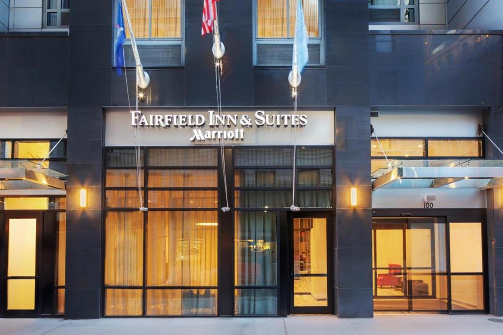 紐約曼哈頓市區世界貿易中心區萬豪萬楓飯店