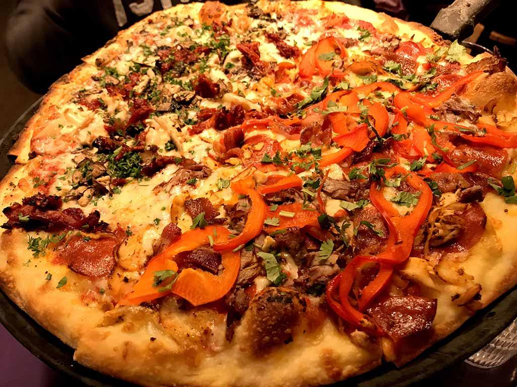 美國-披薩