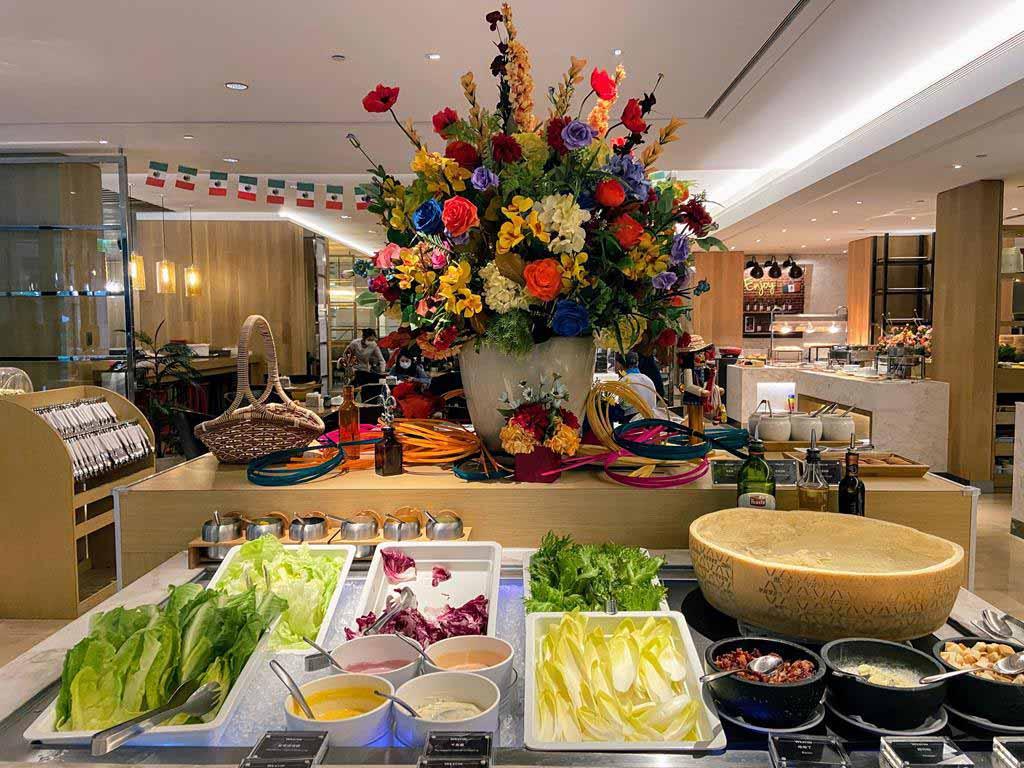 the westin tashee resort breakfast