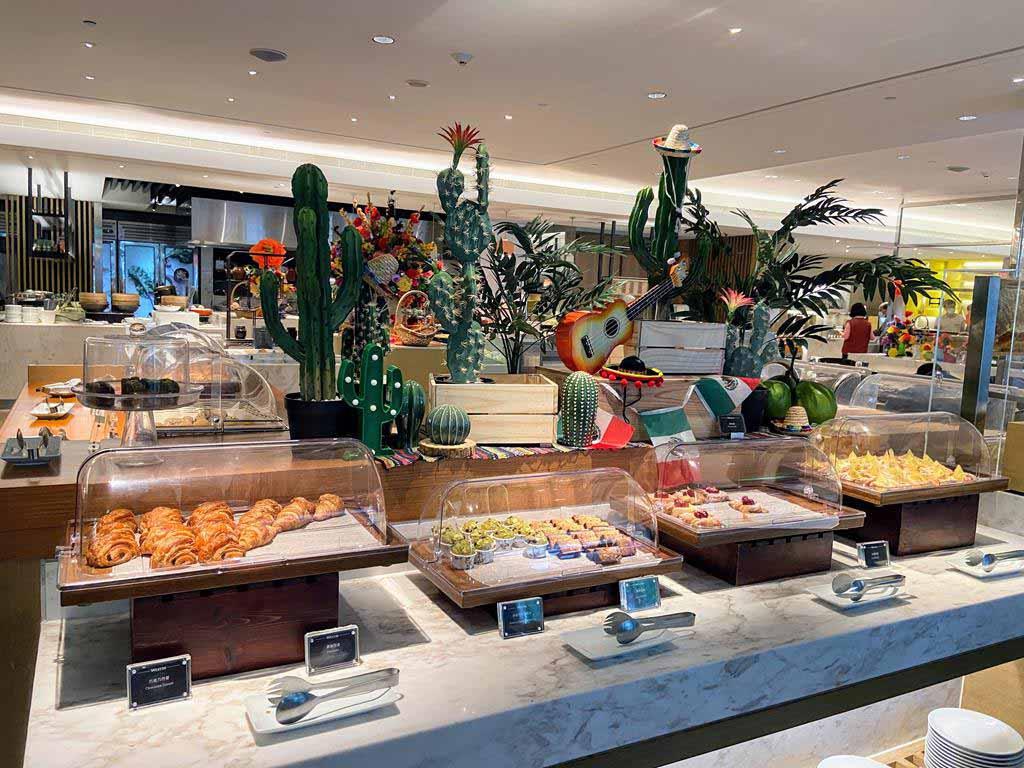 the westin tashee resort breakfast dessert