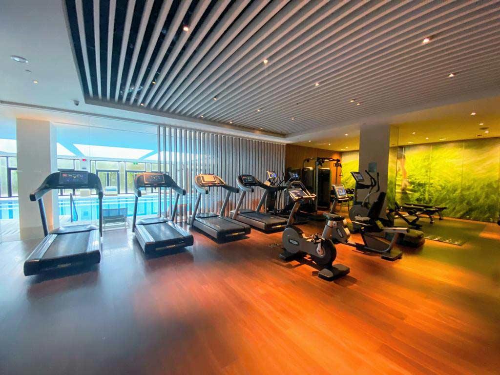 gym of The Westin Tashee Resort