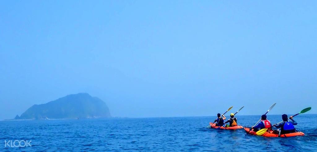 基隆嶼獨木舟