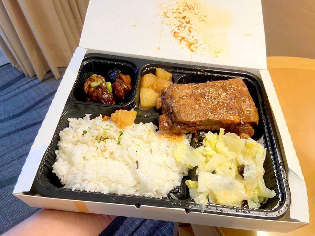瓏山林台北中和飯店-防疫餐食