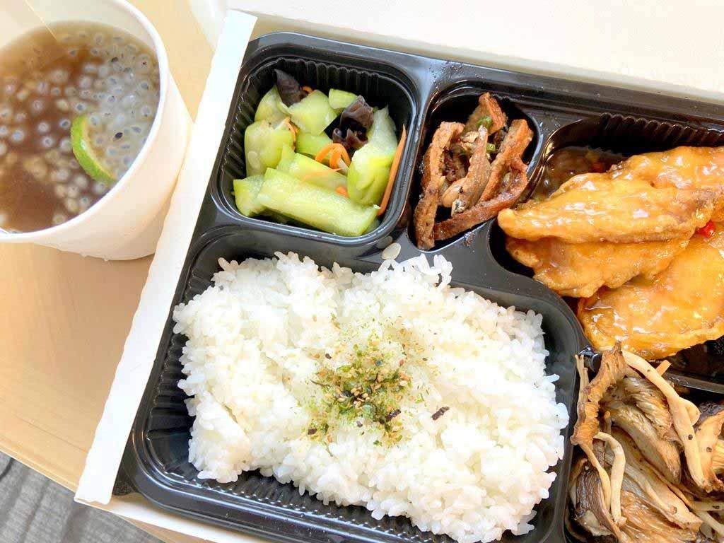 瓏山林台北中和飯店 防疫旅館 午餐