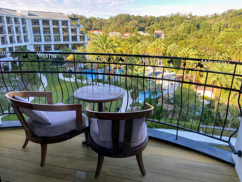 Room of The Westin Tashee Resort