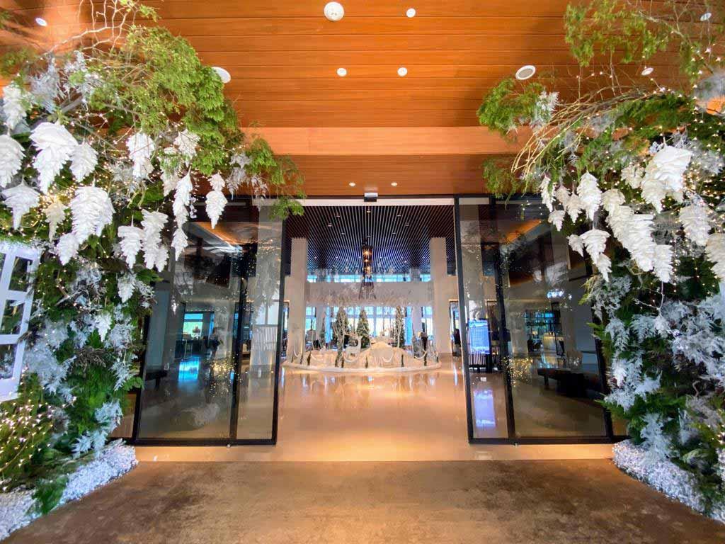 lobby of The Westin Tashee Resort