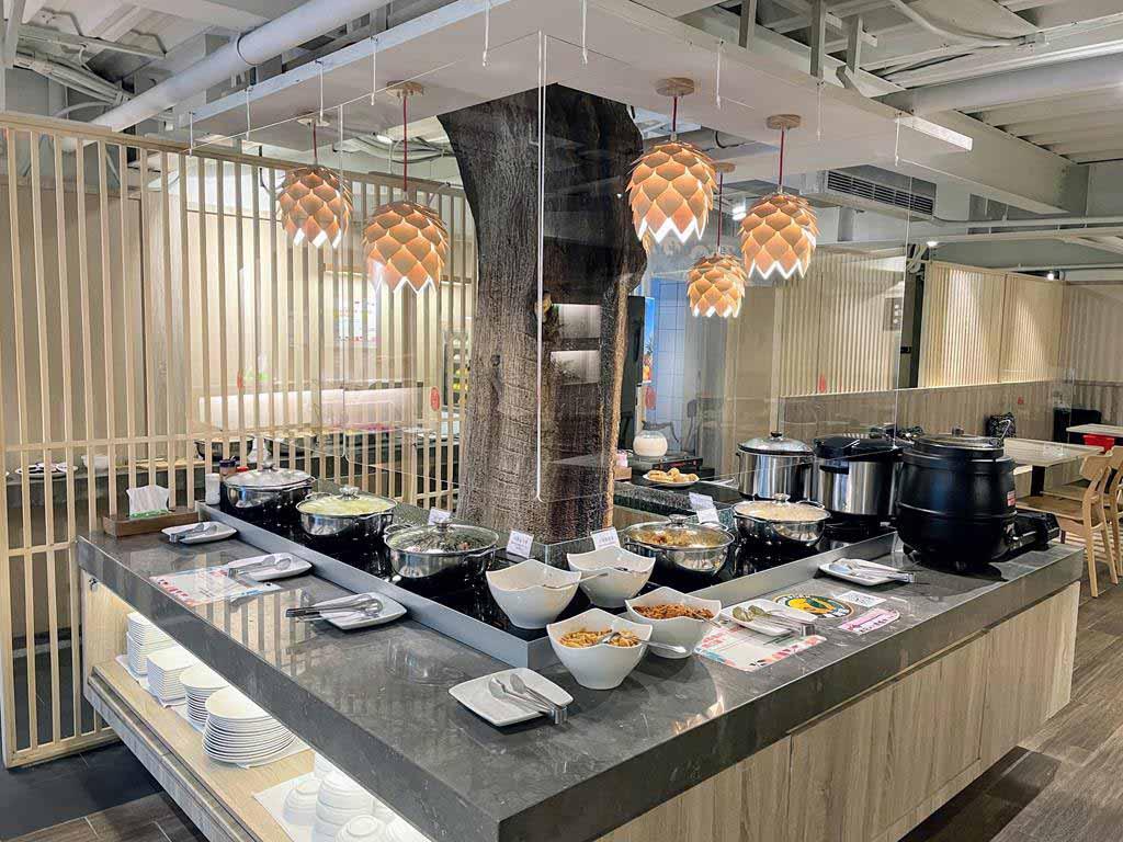 breakfast-of-Yunoyado-Onsen-Hotspring-Hotel-Deyang