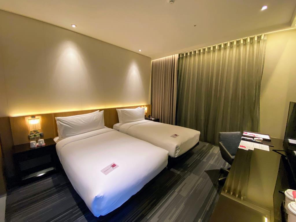 快活樂窩 兩張單人床